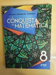 A conquista da Matemática 8° ano Editora FTD