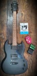 Guitarra Epiphone Goth SG LE - pouquíssimo uso