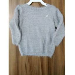 Suéter Milon menina cinza Tamanho P serve até uns 5/6 meses