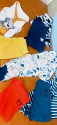 Kit 8 peças roupa neném Tigor