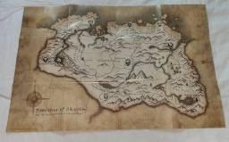Mapa Poster Skyrim Special Edition original