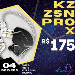 Título do anúncio: KZ ZSN PRO X - NOVO, LACRADO, PRONTA ENTREGA - Fones retorno in-ear