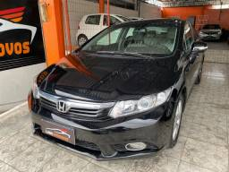Honda civic 2014 exr 2.0 automático c/ teto solar R$61.900