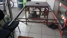 Serra circular motor trifasico