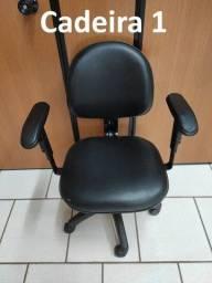 Título do anúncio: Cadeiras Giratórias de Escritório - 6 Unidades