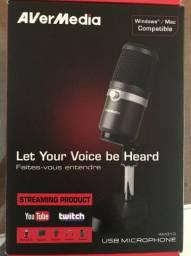 Microfone Avermedia am310 Condensador