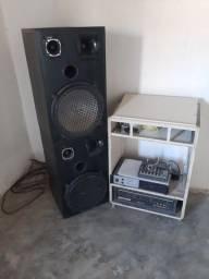 Mesa de som completa