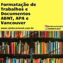 Formatação acadêmica