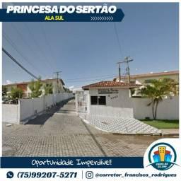Condomínio Princesa do Sertão, 2 Quartos Térreo Ala Sul Próximo ao Centro da Cidade.