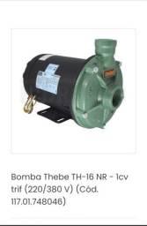 Bomba thebe ( bomba d'água) trifásica.