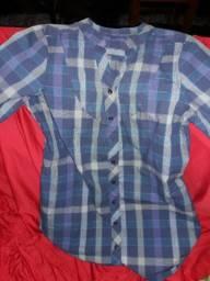 Camisas xadrez femininas M