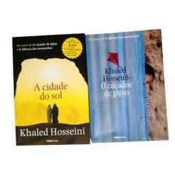 Título do anúncio: A cidade do sol + O caçador de pipas, de Khaled Hosseini