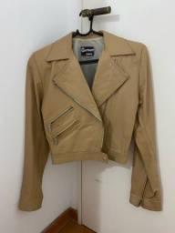Título do anúncio: Jaqueta de Couro Bege Garment