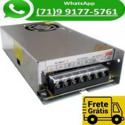 Título do anúncio: Fonte Chaveada 20a 12v 250w P/ Cftv Fita Led Som Automotivo 20 Amperes 12 Volts (NOVO)