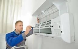 Instalação de ar-condicionado/eletricista