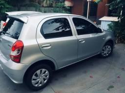 Carro Etios 1.3 X - 2018 estado de 0km - 2018