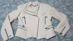 Urgente jaqueta de couro linda