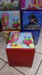 Mini Puff Infantil 24 x 24 x 29 cm comprar usado  Mogi das Cruzes