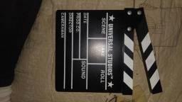 Claquete em madeira Universal Studios