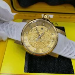 Relógio Invicta Yakuza S1 Branco Automático
