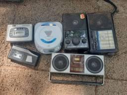 Radio Fm, diskman e Walkman