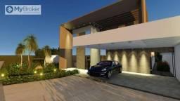Casa com 3 dormitórios à venda, 230 m² por R$ 1.350.000,00 - Condomínio do Lago - Goiânia/