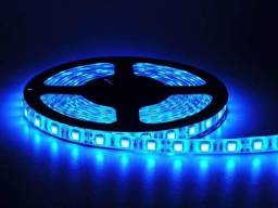 Fita LED 5050 24w Azul ou Verde Rolo 5m