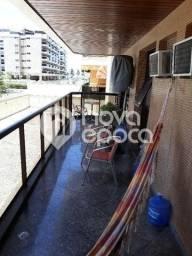 Apartamento à venda com 2 dormitórios em Barra da tijuca, Rio de janeiro cod:BO2AP34692