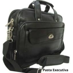 Pasta Executiva Expansiva Para Notebook Kvn 826 Preta