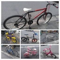 Bicicletas aro 12. 16, 24, 26