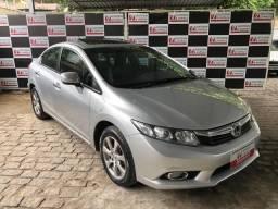 Honda / New Civic EXS 1.8 2012/2013 com teto solar! - 2013