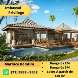 Imbassai Privilege - Lançamento de casas 2 e 3 quartos beira mar/01