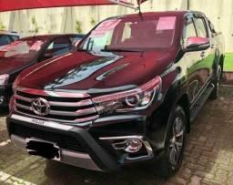 Hilux srx preta 4x4 2.8 diesel - 2019