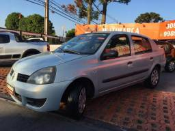 CLIO 2008/2008 1.0 EXPRESSION SEDAN 16V FLEX 4P MANUAL - 2008