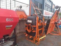 Pulverizador 600 litros pecuário com bomba de 40l/m