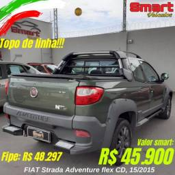 Smart Veículos - FIAT Strada Adventure, 15/2015. R$ 45.900,00 - 2015