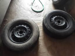 Aro13 175 4pneus e roda