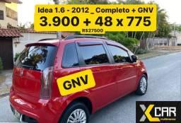 Idea 1.6 - 2012 _ Pouco Rodado _ Completo