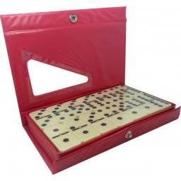 Dominó clássico com caixa 28 peças