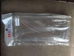 Capinha nova anti empacto Moto One VISON transparente