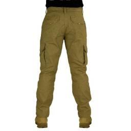 Calça masculina tática operacional 6 bolsos Ripstop