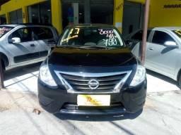 Nissan Versa s 1.6 Completo + Gnv ent 48x 870,00 1 ª Parcela por conta da loja