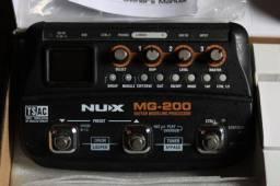 Pedaleira Nux MG 200 | Multi Efeitos | MG200