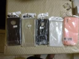 Capas silicone Moto G4 ,G5 e G7 plus ou Samsung A10 R$10 cada