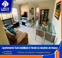 Oportunidade Apartamento Mobiliado à Venda próx. ao Difusora