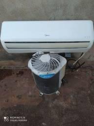 Ar condicionado de 12 mil BTUs 9 mil BTUs e 18 mil BTUs instalado