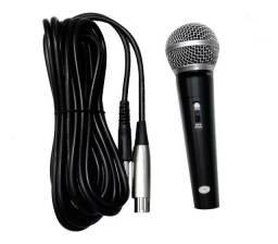 Microfone Com fio Profissional 3m Ideal Eventos