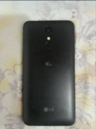 Vendo um celular LG usado  16 giga de memoria pra vim pega
