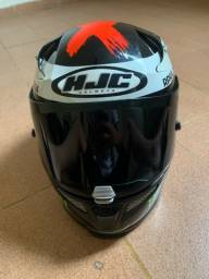 Título do anúncio: Vendo capacete race r pro Jorge Lorenzo