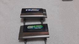 Título do anúncio: 2 tampas do deck do aiwa Nsx-969